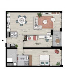 Appartement | Wonen in De Ananas Leiden